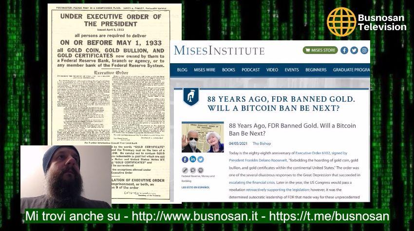 """Di Bitcoin, Zio Bill, social, come affrontare la """"pandemia"""" ed elezioni rinviate"""